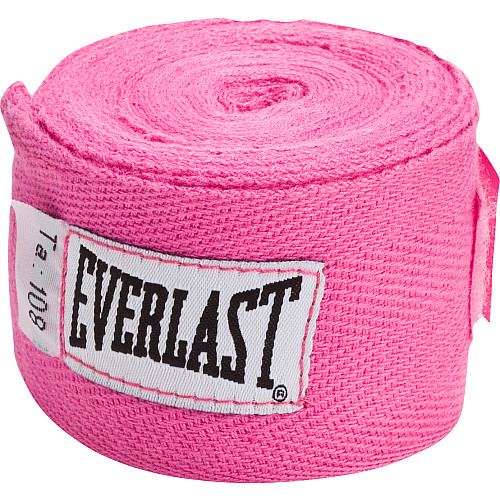 Everlast 108 Cotton Handwraps Red