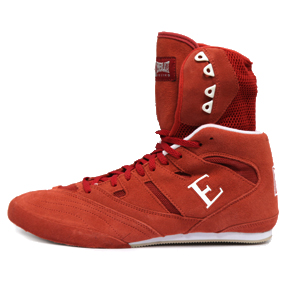 Everlast Hi-Top Suede Shoes Red