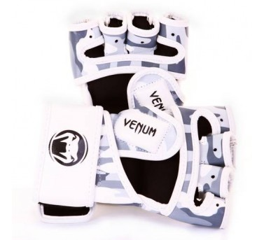 Venum Camo MMA Gloves Skintex Leather