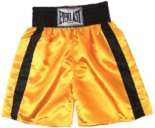 Everlast Boxing Trunks GD.BK