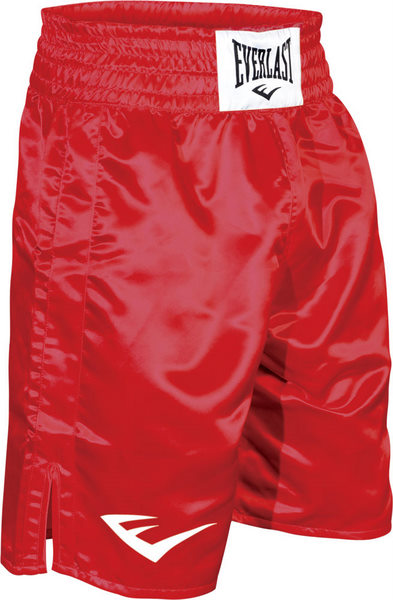 Everlast Boxing Trunks RED
